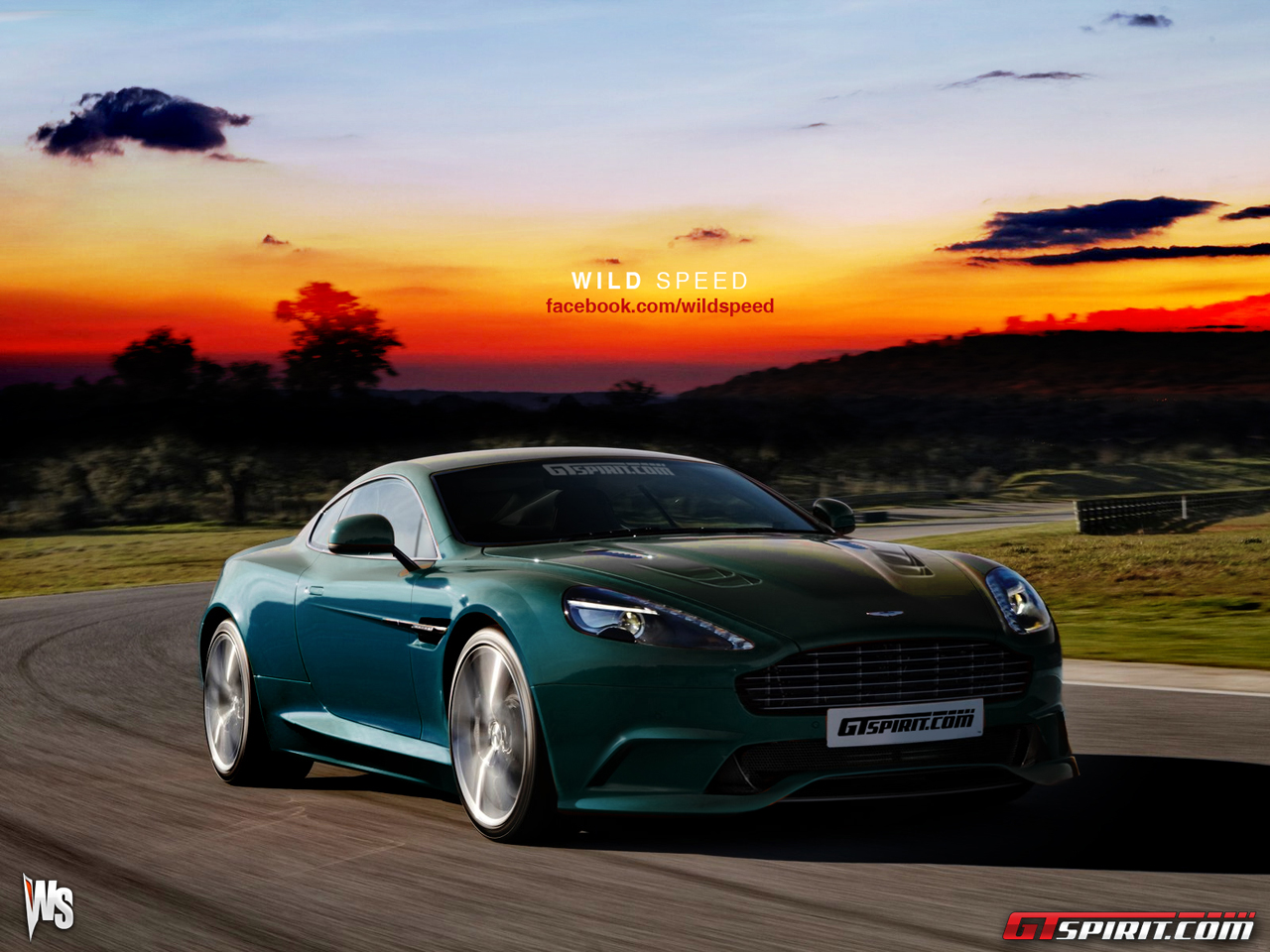 2013 Aston Martin DBS Renderings Photo 1